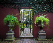 Iron Gate Posters - Welcome Garden Poster by Perry Webster
