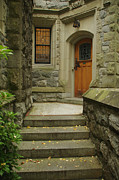 Medieval Entrance Posters - Welcome Home Poster by Marilyn Wilson