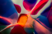 Glass Photograph Glass Art - Welcome by Omaste Witkowski
