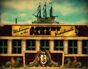 Photo Manipulation Photo Posters - Welcome to Asbury Poster by Colleen Kammerer