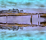 Welcome To Bald Head Island II Print by Betsy A Cutler Islands and Science