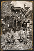 Bannack State Park Montana Framed Prints - Welcome To Hotel Meade D6862 Framed Print by Wes and Dotty Weber