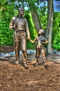 Andy Griffith Show Digital Art Framed Prints - Welcome to Mayberry Framed Print by Dan Stone