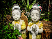 Sculptures Digital Art - Welcome to Thailand by Adrian Evans