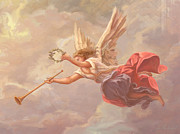 St. Augustine Paintings - Welcoming Angel by John Alan  Warford