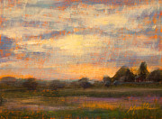 Country Paintings - Weld County by Athena  Mantle