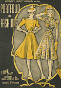 WomenÕs Art - WeldonÕs Ladies Journal 1940s Uk by The Advertising Archives