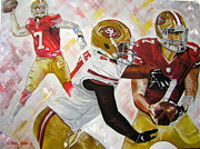 49ers Painting Prints - Well Be Back Print by Phil  King