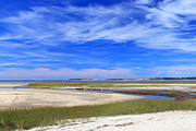 Wellfleet Prints - Wellfleet Bay Estuary Cape Cod Print by John Burk