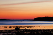 Wellfleet Prints - Wellfleet Sunset Print by Karma Boyer