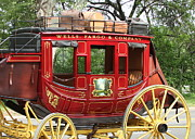 Wagon Photo Prints - Wells Fargo Print by Rick  Monyahan