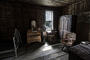Missoula Prints - Wells Hotel Bridal Suite - Garnet Ghost Town - Montana Print by Daniel Hagerman