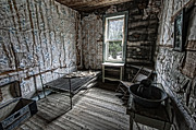 Hotel-room Photo Prints - Wells Hotel Room 2 - Garnet Ghost Town - Montana Print by Daniel Hagerman