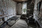 Wells Hotel Room 2 - Garnet Ghost Town - Montana Print by Daniel Hagerman