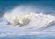 Nj Photo Originals - Wellsfleet Waves  by Iconic Images Art Gallery David Pucciarelli