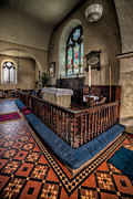 Altar Prints - Welsh Chapel Print by Adrian Evans