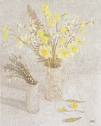 Value Prints - Welsh Spring Flowers Print by Maurice Sheppard