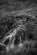 Llyn Idwal Prints - Welsh Stream Print by John Hallett