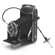 Film Camera Photo Prints - Welta Garant folding camera late 1930s Print by Paul Cowan