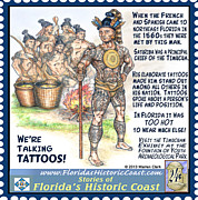 St. Augustine Mixed Media Posters - Were Talking Tattoos Poster by Warren Clark