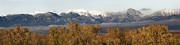 West Bridger Mountains Print by Robert Weiman