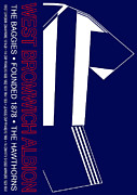 Home Football Game Posters - West Bromwich Albion Premier League Football Club Poster by Neil Finnemore