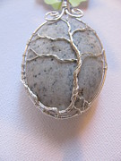 Wire-wrapped Jewelry Originals - West Coast Tree Pendant by Tareen Rayburn