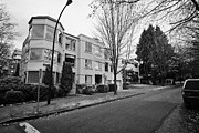 Townhouses Photos - west end low rise condos apartments and townhouses Vancouver BC Canada by Joe Fox