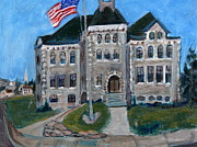 All - West Hill School in Canajoharie New York by Betty Pieper