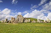 Wiltshire Framed Prints - West Kennet Long Barrow Avebury Wiltshire England Framed Print by Colin and Linda McKie