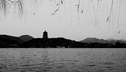 Coldest Framed Prints - West Lake HANGZHOU #02 Framed Print by Eddie Cheng