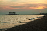 Tom Hard - West Pier at Sunset