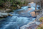 Mountain Fork Creek Prints - West Prong Print by Randy Walton
