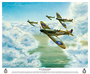 Raf Painting Framed Prints - West Riding Patrol Framed Print by Norbert Lisinski