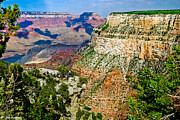 Thor Framed Prints - West Rim Drive Grand Canyon Framed Print by Nadine and Bob Johnston