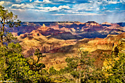 Kazakhstan Digital Art - West Rim Grand Canyon National park by Nadine and Bob Johnston