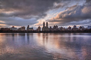 Central Park Skyline Prints - West Side Story Print by Evelina Kremsdorf