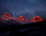 Raymond Salani Iii Prints - West Side Teton Sunset Print by Raymond Salani III