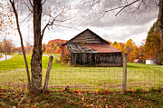 Kathleen K Parker - West Virginia Barn in Fall
