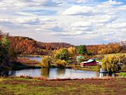 Kathleen K Parker - West Virginia Farm Landscape in Fall