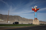 Murals Prints - West Wendover Nevada Print by Frank Romeo