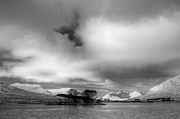Munroe Photo Metal Prints - Wester Ross Winter  Metal Print by Derek Beattie