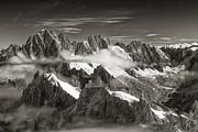 Western Alps - Panorama Print by Juergen Klust