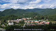 Western Carolina University Framed Prints - Western Carolina University - Summer 2013 Framed Print by Matthew Turlington
