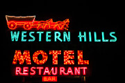 Sue Smith - Western Hills Motel Sign