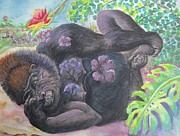 Gorilla Originals - Western Lowland Thinker by Lynn Maverick Denzer
