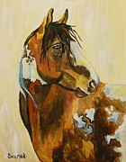 Veronica Silliman - Western Mustang Abstract