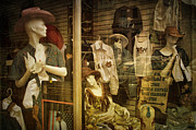Country And Western Prints - Western Window Display in Nashville Tennessee Print by Randall Nyhof