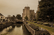 Punt Framed Prints - Westgate Towers.  Framed Print by Ian Hufton
