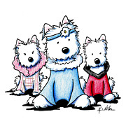 Kim Niles - Westie Fashion Trio